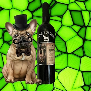 wine bulldog